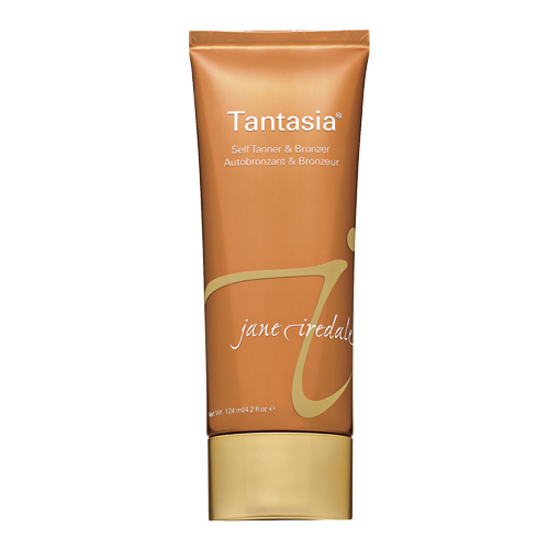 Try jane iredale's Tantasia for a safe, natural-looking tan.