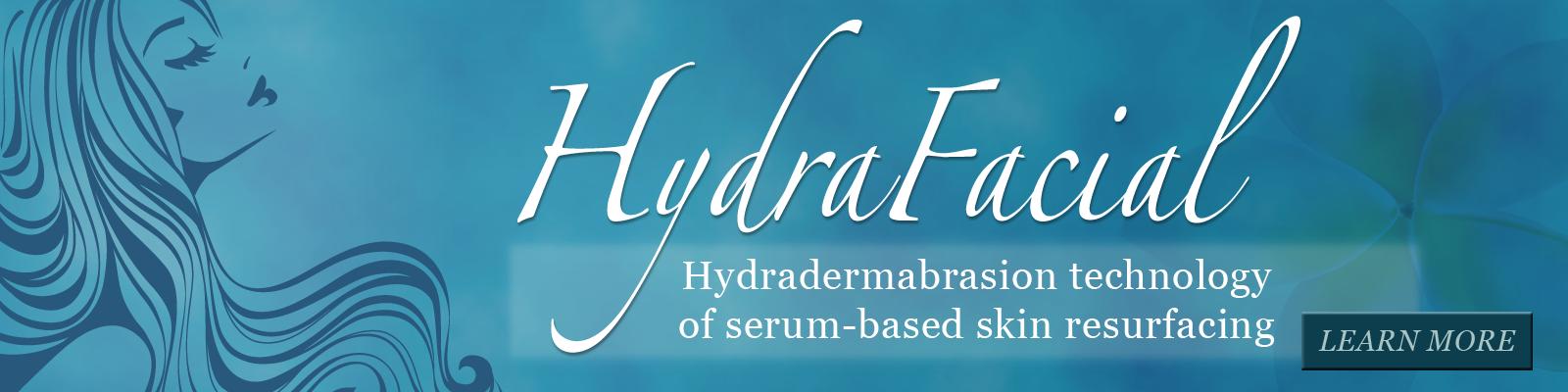 HydraFacial, hydradermabrasion technology